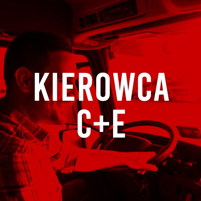 Rekrutacja: Kierowca kat. C + E