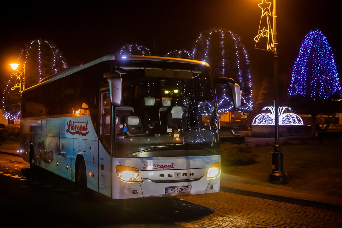 Harmonogram obsługi linii w dni świąteczne, Nowy Rok oraz Święto Trzech Króli